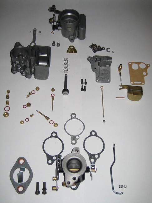 Carter 539-S Carburetor restauration