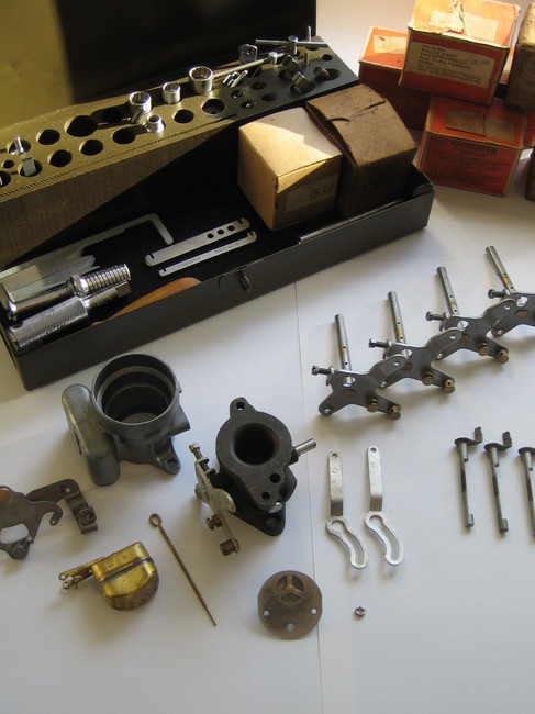 Carter Carburetor resturation tools and parts