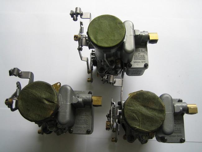Carter 539-S Carburetors