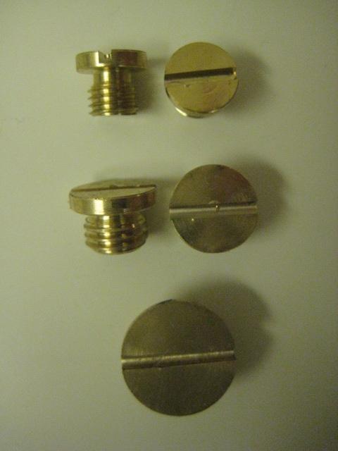 Carter Carburetor Brass Plug