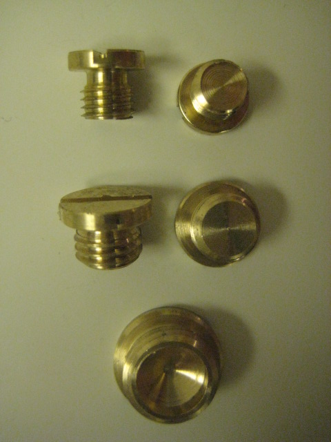 Carter Carburetor Brass Plug