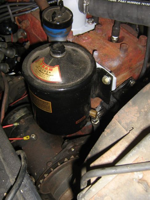 1948 Cj-2a Oil Filter Question