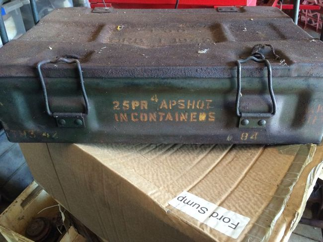 P60 ammunition box