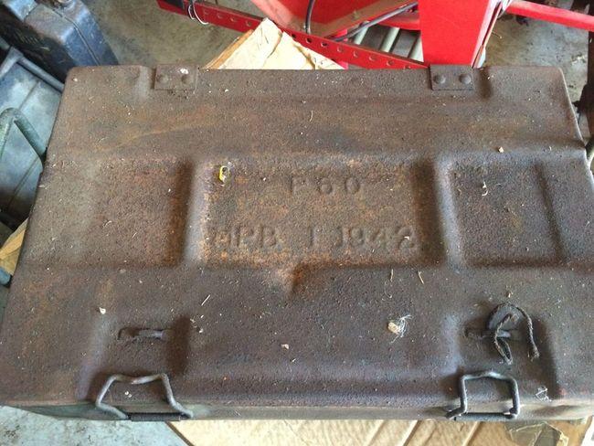 P60 ammunition box