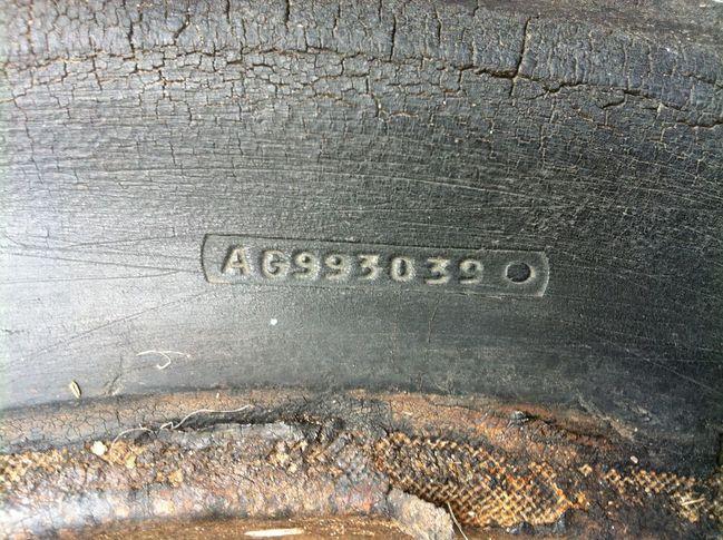 Original Firestone Tyre
