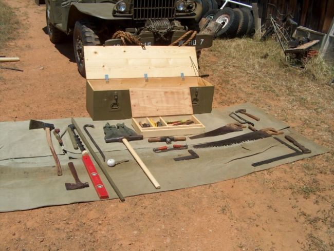 carpenter tool kit army 2
