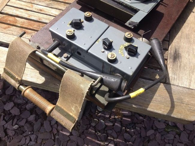 19 Set Wireless Carrier No 23, With Control Unit 3A And Variometer Mount