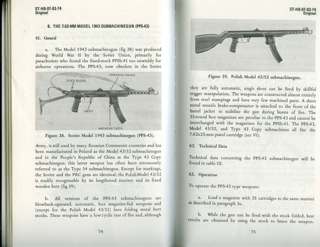 USGI PPSH-41 and PPS-43 Operation Manual - High Quality Scan