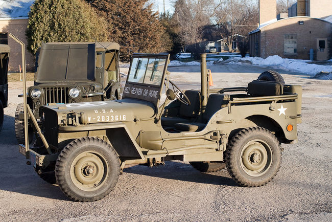 Willys MB driver's side view - The G503 Album