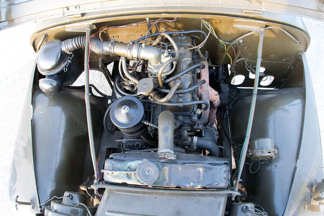 M38A1 engine compartment