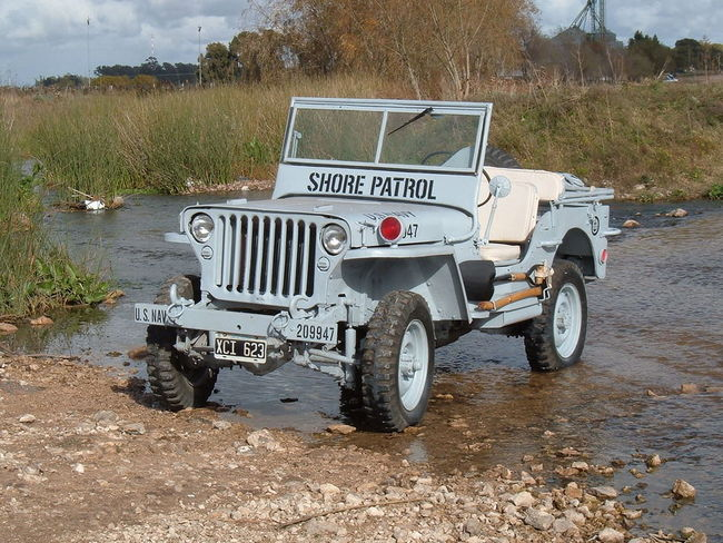 Willys MB Navy jeep