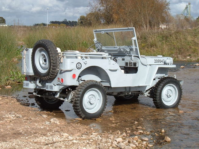 Willys MB Navy jeep - The G503 Album