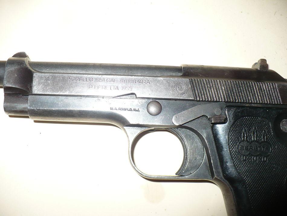 Egyptian Contract 1951 Beretta Pistol - Picture heavy