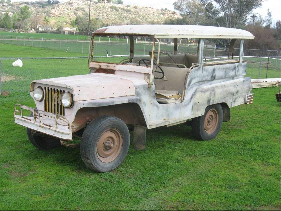 1956 Willys Jeep Jeepney CJ2A - G503 Military Vehicle