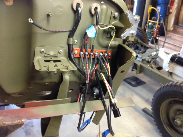 restoration of my 1942 ford gpw jeep page 18 military vehicles rh usmilitariaforum com Truck Wiring Harness Wiring Harness Diagram