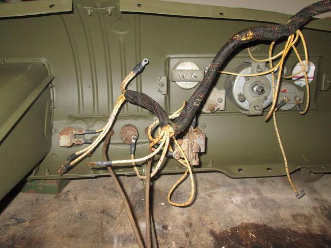 G506 Dash Harness Installation