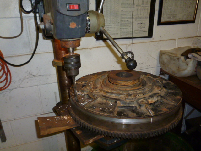 Repair_and_fit_pressure_plate_1