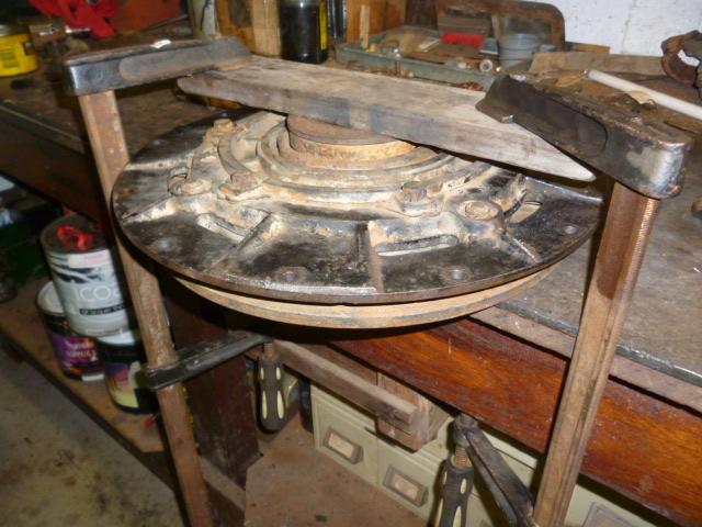 Repair_and_fit_pressure_plate_3
