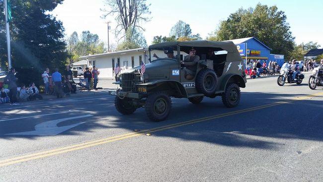 Veterans Day Parade 2018 - Shasta Lake