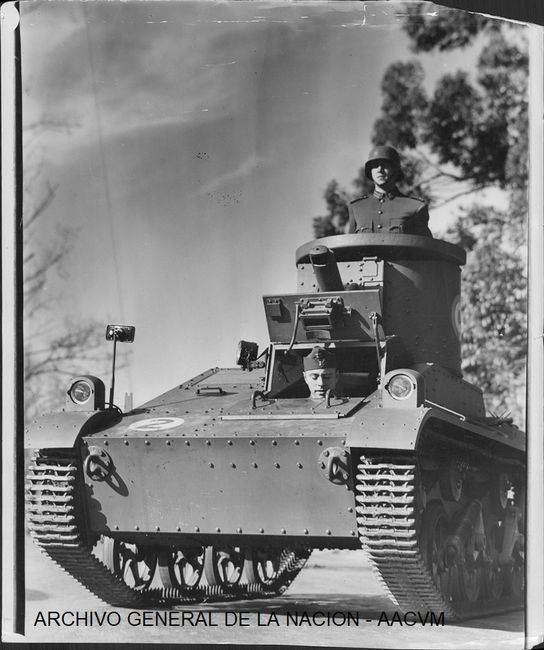 M1934 Vickers Carden Loyd Tank