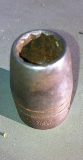 "Plomb War Finish 7/16"" civilian socket"