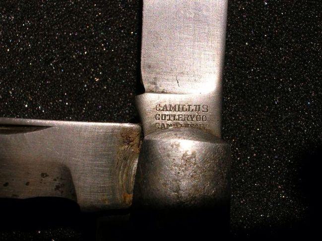 Camillus TL29 blade marking