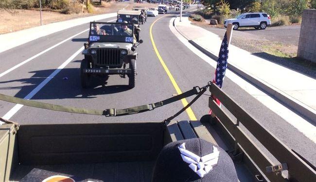 Veterans Day Parade 2015 - Shasta Lake