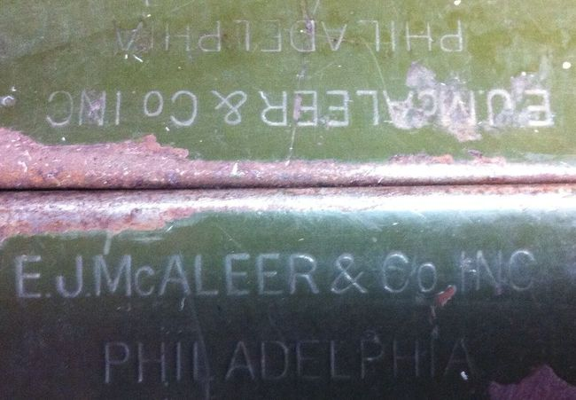 Clear manufacturers markings