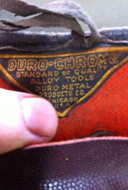 Duro roll label