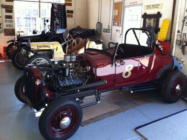 Flathead Model T hot rod, Model T speedster and Model T touring car