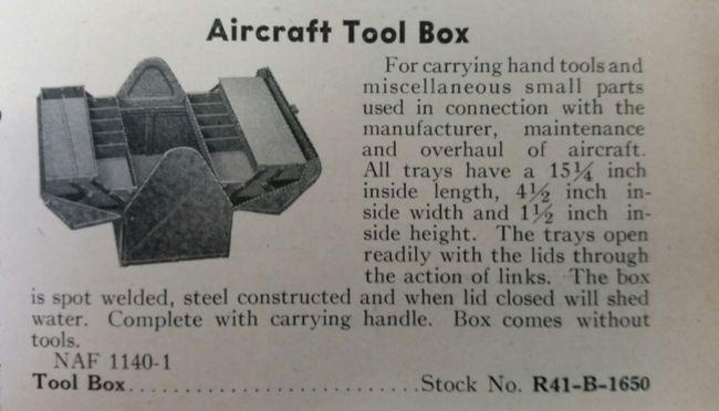 Kennedy tool box ad