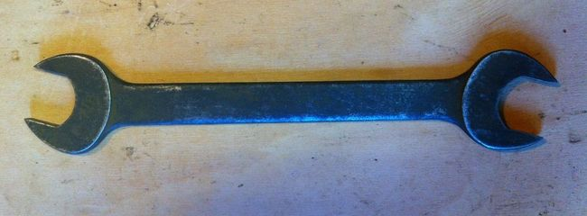 """Duro 13/16"""" X 7/8"""" tappet wrench"""