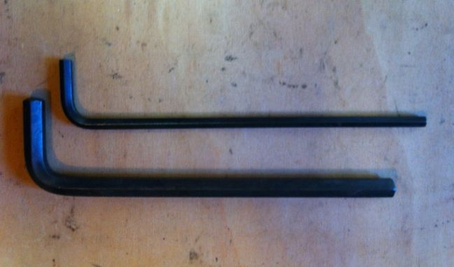 Long Allen wrenches
