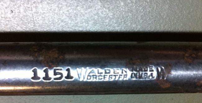 Walden flex handle markings