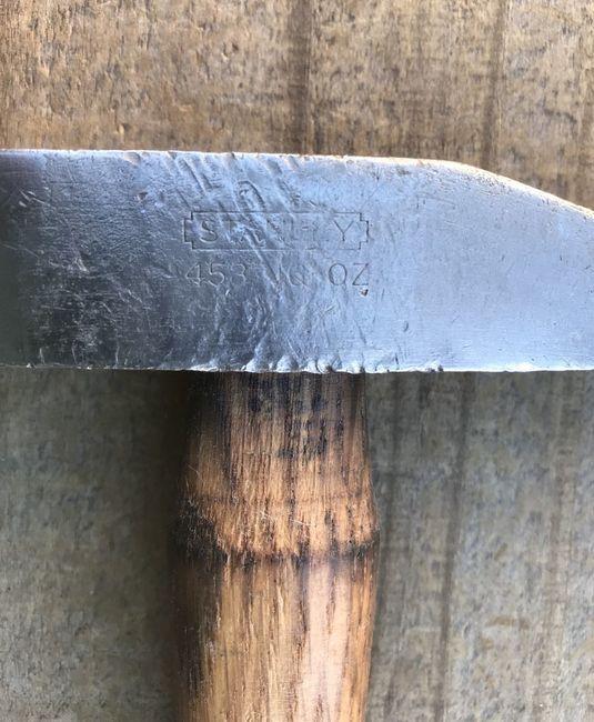 Stanley 16 oz hammer rehandled