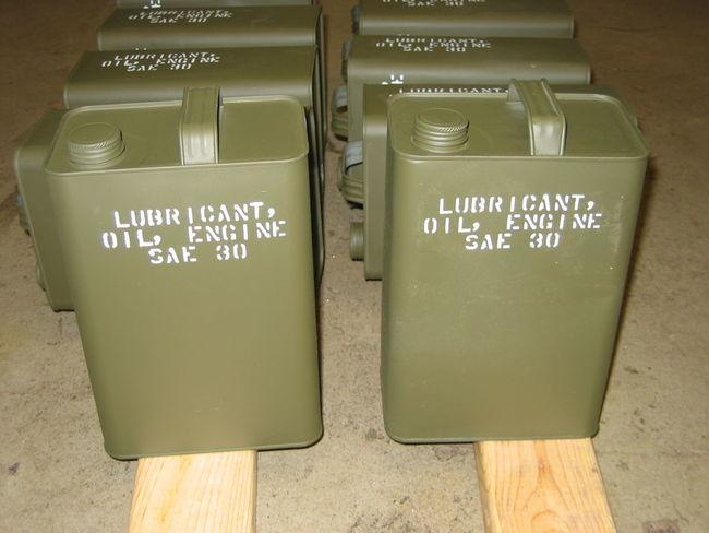 WW2 Fuel Cans - Thomas C.