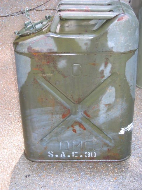 WW2 Fuel Cans - Thomas C.