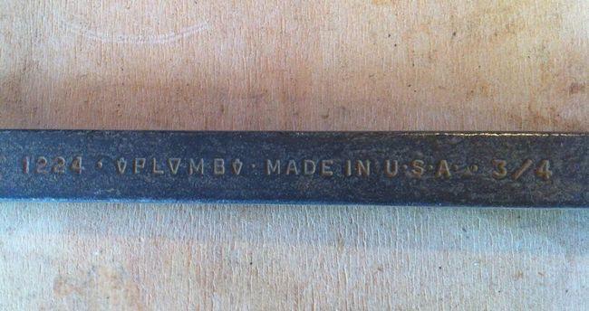Plomb 1224 markings