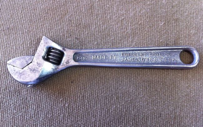 "Crescent 6"" adjustable wrench"