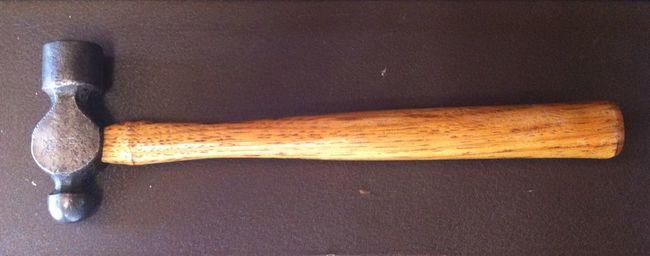 Vlchek ball pein hammer rehandled for Steve W.