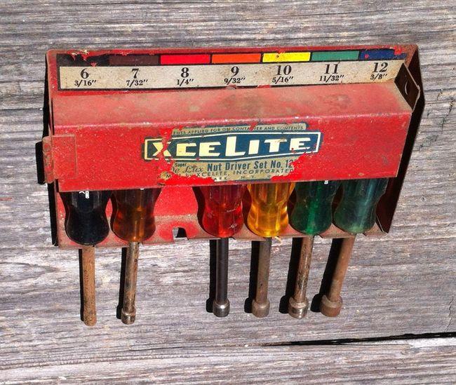 Vintage Xcelite Nut Driver Set