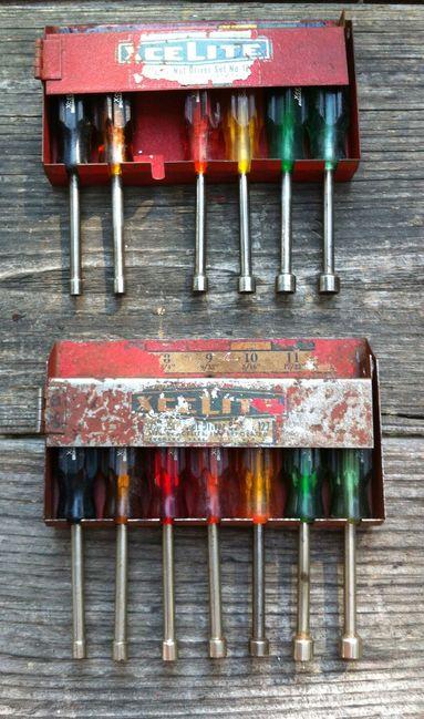 Vintage Xcelite Nut Driver sets
