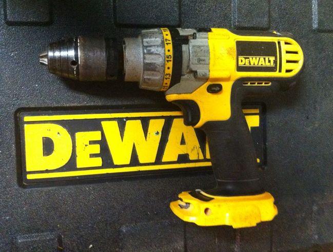 Dewalt drill other side