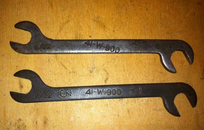 FSN marked ignition wrenches