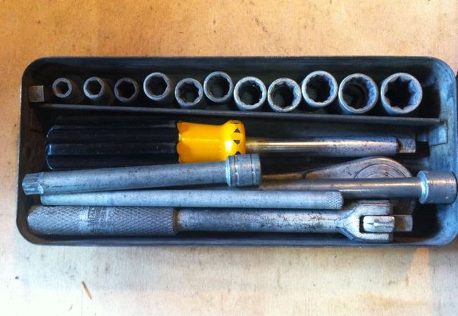 """Walden early cad plated 1/4"""" set"""