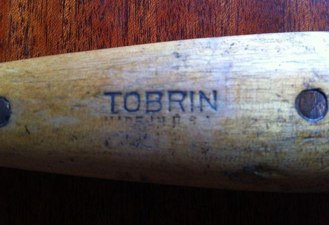 Tobrin handle stamping