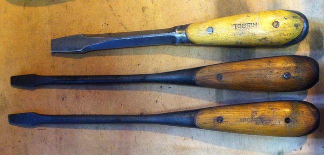 Tobrin handle stamped screwdrivers