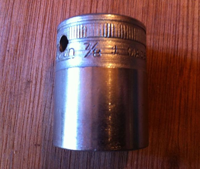 1941 Snap-on SW280 socket for the MVMTS