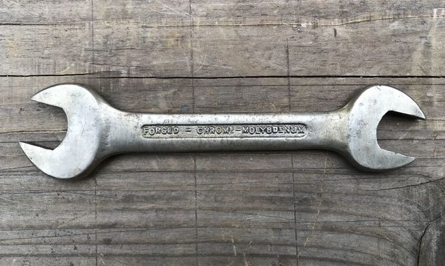 Barcalo chrome moly DOE wrench