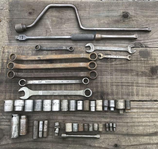 Thorsen non chrome tools 12/27/18